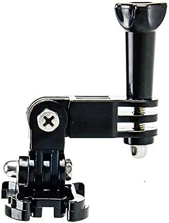 Schwarz Fcostume PULUZ Aluminium Alloy Kugelgelenk Set Mount Adapter Halter Einstellbare 360 Grad Drehung f/ür DJI Osmo Action f/ür GoPro