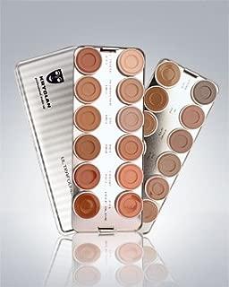 Kryolan Ultra Foundation 24 Color Palette Makeup 9008