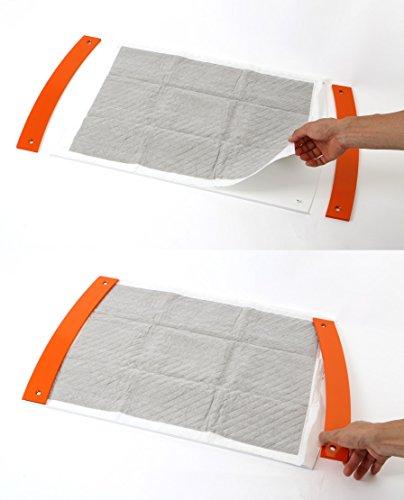 pecolo(ペコロ)ToiletTrayWideオレンジワイドサイズ