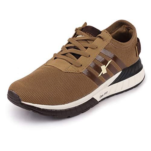 Sparx Men's D. Camel Brown Running Shoes-9 UK (43 1/3 EU) (SX0441G_DCBR0009)