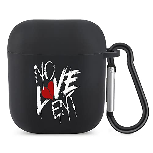 Nle Choppa Gear Merch, No Love New Rap Pullover Hoodie Case for irpods 1/2 Generation Bluetooth Headset