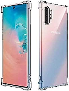 For Samsung note 10 pro Shock absorption Crystal Clear Soft TPU Raised Camera and Screen Edge to Protect from Scratching