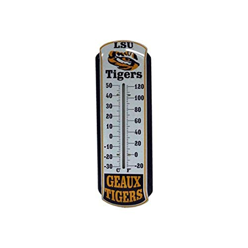 Game Day Outfitters NCAA LSU Tigers Thermometer, One Size, Multicolor