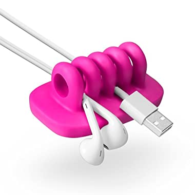 Quirky PCORP-PK01 Cordies Pop Wire and Cable Organizer, Pink