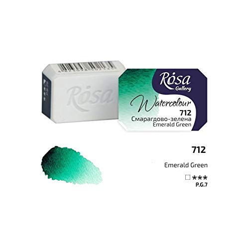 Professionelle Aquarellfarbe, 2,5 ml, halbe Dose smaragdgrün