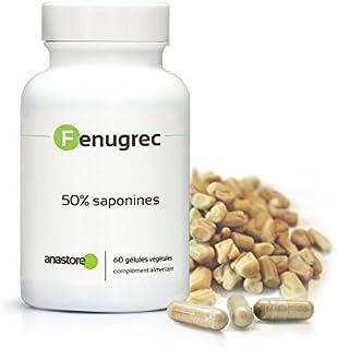 FIENO GRECO * 500 mg / 60 capsule * Titulado al 50% en