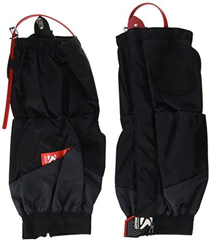 Millet MIS2105 Guêtres Hautes Protectrices - Randonnée, Trekking, Alpinisme Modèle Mixte, Black/Red, M