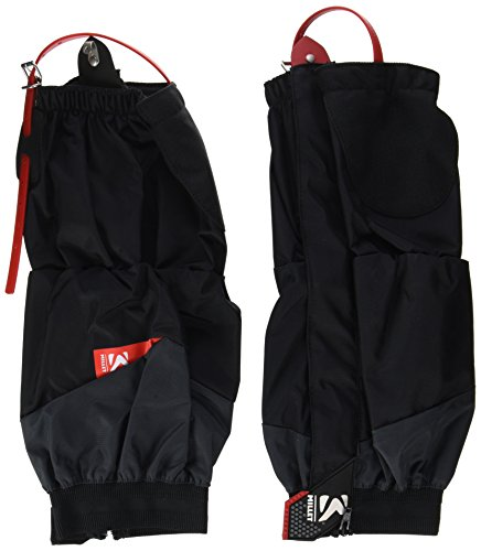 Millet High Route Gaiters Polainas, Unisex-Adult, Black/Red, S