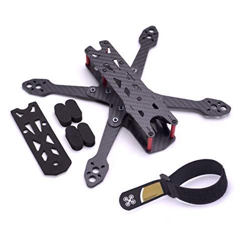 Readytosky 220mm FPV Racing Drone Frame for Martian IV Carbon Fiber FPV Quadcopter Frame Kit 4MM Arms+Lipo Battery Strap 25CM