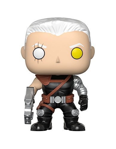 Funko Pop!- Pop Marvel: Deadpool-Cable Figura de Vinilo,