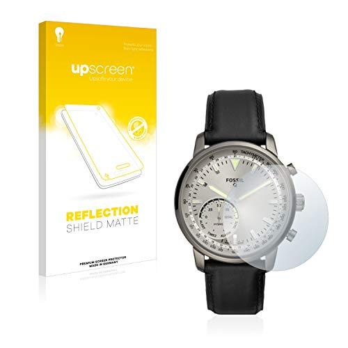 upscreen Entspiegelungs-Schutzfolie kompatibel mit Fossil Q Goodwin – Anti-Reflex Bildschirmschutz-Folie Matt