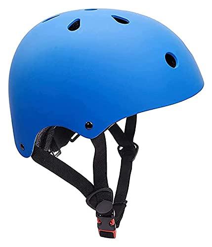 Makeupart Casco De Patineta para Niños Casco De Patinaje Equipo De Protección, Casco De Bicicleta Edad 6-16 Niños Adolescente Ajustable para Patineta En Línea Bicicleta Patinaje sobre Ruedas