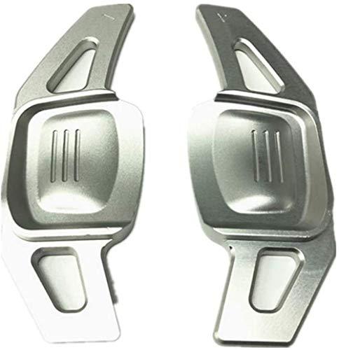 GXZYY Palanca de Cambio del Volante del Coche, para Volkswagen VW Golf 7 Alltrack MK7 Passat B8 Variant Tiguan Jetta MK6 - Plata