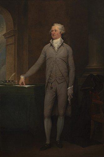 Pintura de história americana vintage de Alexander Hamilton Original por John Trumbull Oil On Canvas 1792 Poster Print44; 22 x 34 - Grande