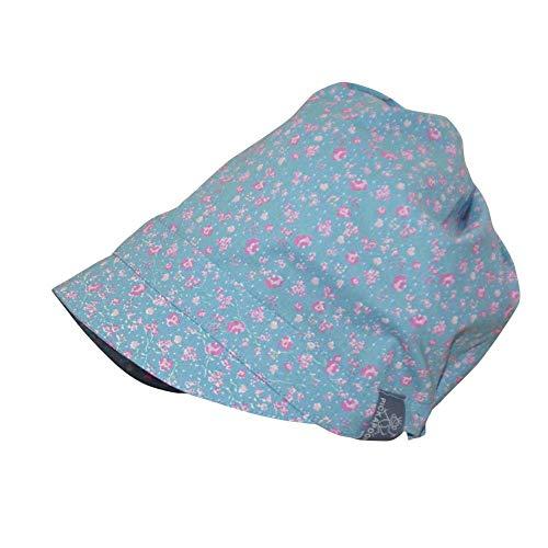 PICKAPOOH Schirmmütze Luna Bio-Baumwolle, Blume Rosa, Gr. 56