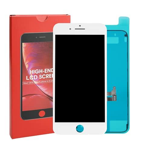 Compatible con iPhone 7 Plus - Blanco - Pantalla LCD ITruColor Serie de gama alta