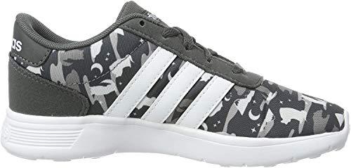 Adidas Lite Racer K, Zapatillas de Deporte Unisex niño, Multicolor (Grisei/Ftwbla/Aeroaz 000), 28.5 EU