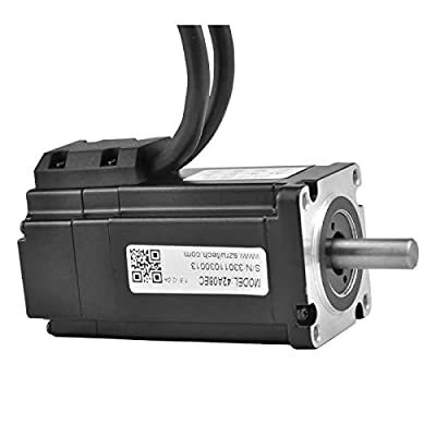 RTELLIGENT Nema 17 Closed Loop Stepper Motor, 0.8NM 2.8A 2 Phase 4-Wire Bipolar Stepping Motor with Encoder for Automated Machinery