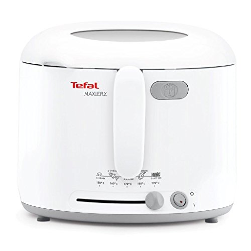 Tefal MaxiFry Deep Fryer (4 Portions), 1 Kg Capacity, 1600 W, White