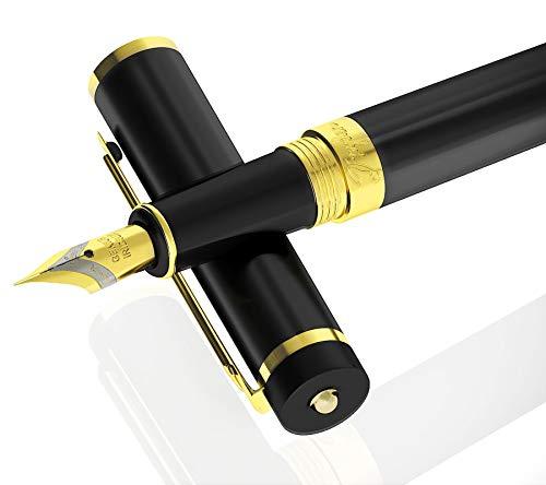 Dryden pluma estilográfica (Negro Intenso) clásico moderno edición limitada