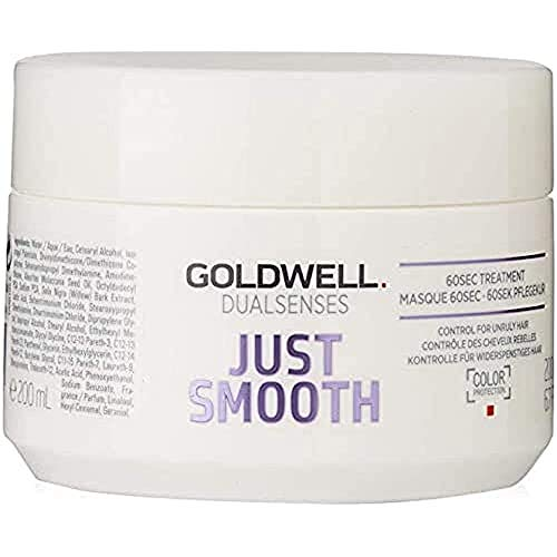 Goldwell Dualsenses Just Smooth 60 seconds Treatment, 1er Pack (1 x 200 ml)