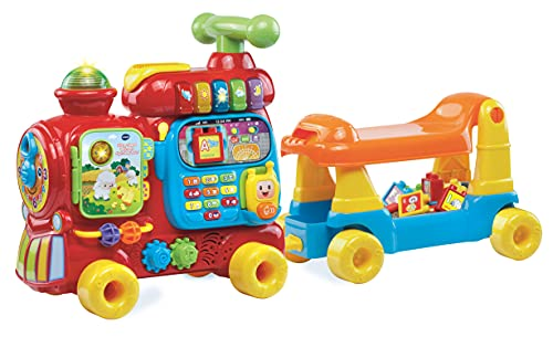 VTech Baby Push and Ride Alphabet Train Push Along Toy