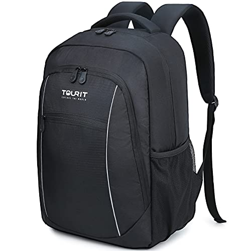 TOURIT Insulated Cooler Backpack Lightweight Backpack Cooler Bag Leak-Proof Backpack with Cooler for...
