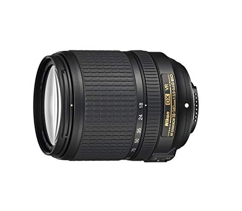 Nikon AF-S DX NIKKOR 18-140mm f/3.5-5.6G ED Vibration Reduction Zoom Lens with Auto Focus for Nikon DSLR Cameras