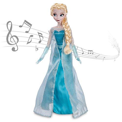Elsa aus Die Eiskönigin - völlig unverfroren - Singende Puppe
