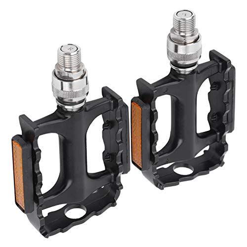 Demeras Self-Locking Cycling Pedals Cleat Self‑Locking Pedal Durable Road Bike Bicycle Cleat Set Self-Locking Pedal for Cycling Road Bike Bicycle
