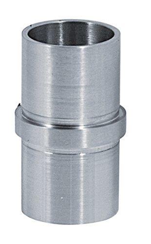Verbinder zum Stecken und Kleben, für Rohr 33,7 x 2,0 mm, in V2A Edelstahl