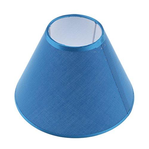 1 Stück Erstaz Lampenschirm, Zubehör für Tischlampe Stehlampe - Farbe Wählen - Blau