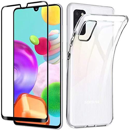 Boleyi Funda Huawei P50 Pro,[1 Pack] Cristal Templado, Carcasa Silicona Fibra de Carbono Transparente TPU Alta Resistente y Flexibilidad Fundas Cover Caso para Huawei P50 Pro