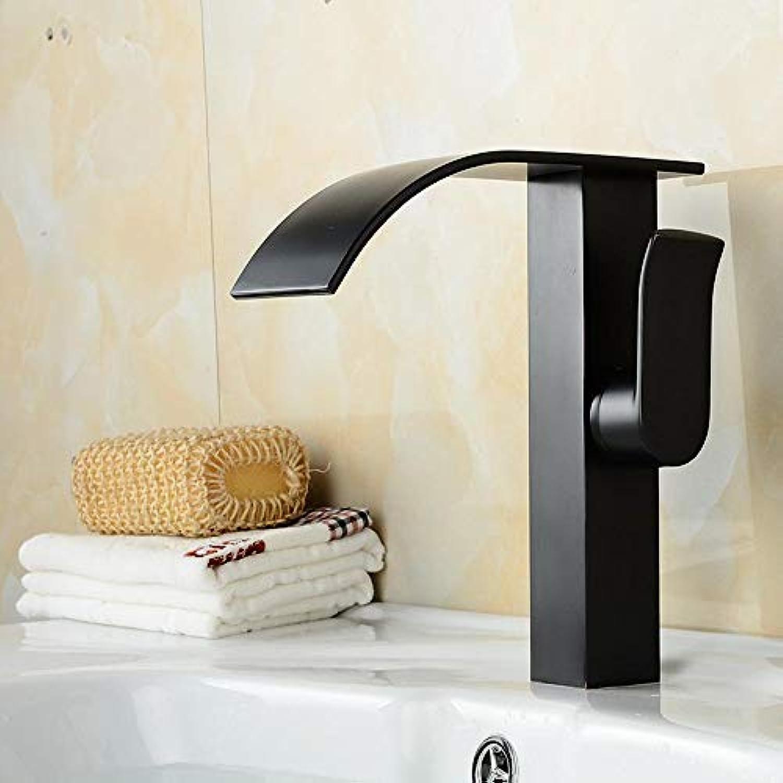 Luziang Alle Kupfer Retro-Loch-Waschtischarmatur Mischen von Hei- und Kaltwasserhhne Becken- Sicherer für in Bad WC Küche