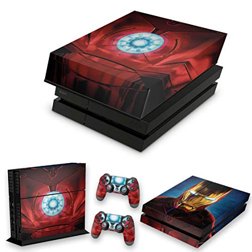 Capa Anti Poeira e Skin para PS4 Fat - Iron Man - Homem De Ferro
