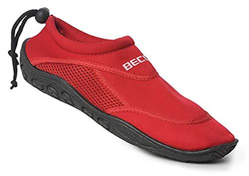 BECO Surfschuhe Badeschuhe Beachschuhe Aqua Strand Schuhe Damen rot Gr. 39