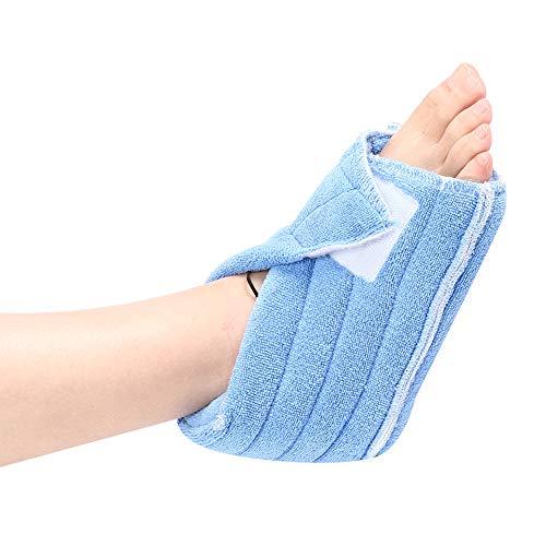Soporte de Tobillo, 2 Piezas de Soporte para el talón del pie, antiescaras, Tobillo del pie, Cubierta cálida para Ancianos, atención de enfermería en la Cama, prevención de úlceras por