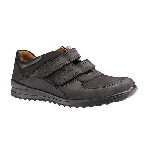 JOMOS - Herren Slipper - Schwarz Schuhe in Übergrößen, Farben:Schwarz;Größe:42;Weite:H