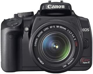 Canon デジタル一眼レフカメラ EOS Kiss デジタル X レンズキット ブラック KISSDXB-LKIT