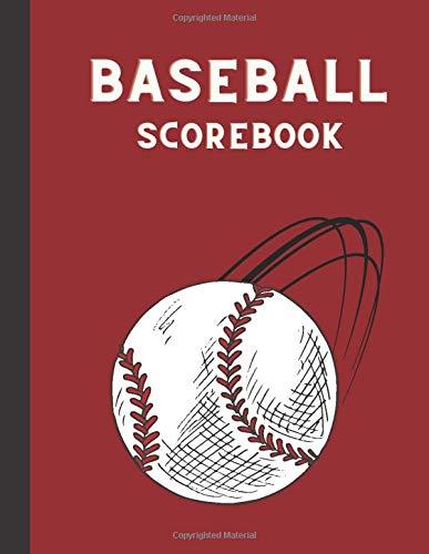 Baseball Scorebook: 110 Pages Baseball Score Sheet, Baseball Scorekeeper Book, Baseball Scorecard