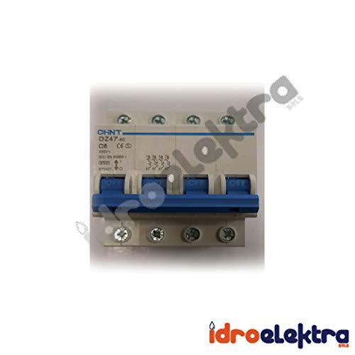 Interruptores modulares DZ47 60 C63 4P 45 INT MT 4P 63A