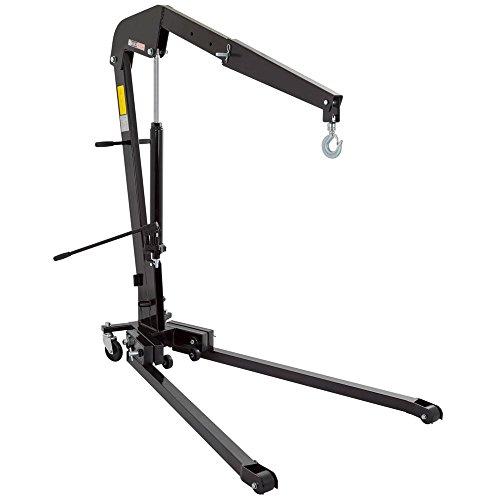 Black Widow 1-Ton Folding Shop Crane