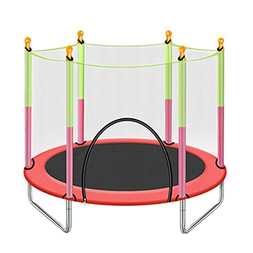 Trampolines Kids Sports Heavy Duty Round Jumping Mat With Enclosure Net, Indoor Patio Yard, Load 200kg