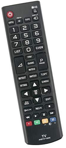 ALLIMITY AKB73715686 Reemplace el Control Remoto por LG Plasma TV 22MT44D 22MT47D 24MN43D 24MT55V 28MT47T 29MT45 32LF5610...