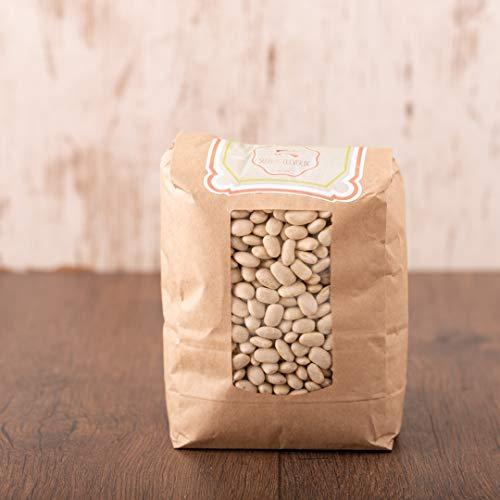 süssundclever.de® Bio Bohnen | weiß | Gourmet | 2 x 1 kg | unbehandelt | plastikfrei und ökologisch-nachhaltig abgepackt