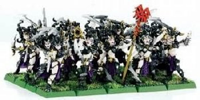 WARHAMMER fantasyc Age of Sigmar - Dark Elf Witch Elves Aelves - Streghe Elfe Degli Elfi Oscuri - METAL