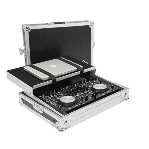 Gorilla Denon MC6000 mk2 DJ Controller Flight Case Workstation Carry Case inc Laptop Shelf & Lifetime Warranty