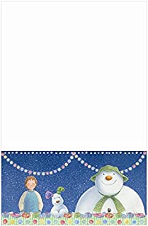 The Snowman and The Snowdog Christmas Party Plastic Tablecover