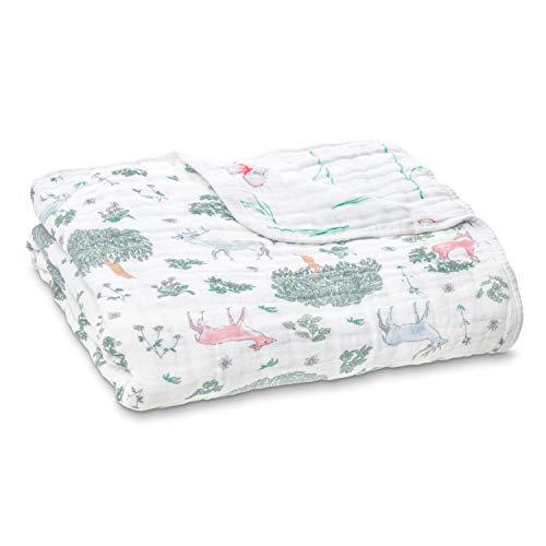 Elli /& Raff Baby Cellular Blanket Natural 75x100cm Baby Newborn Bedding Sheet