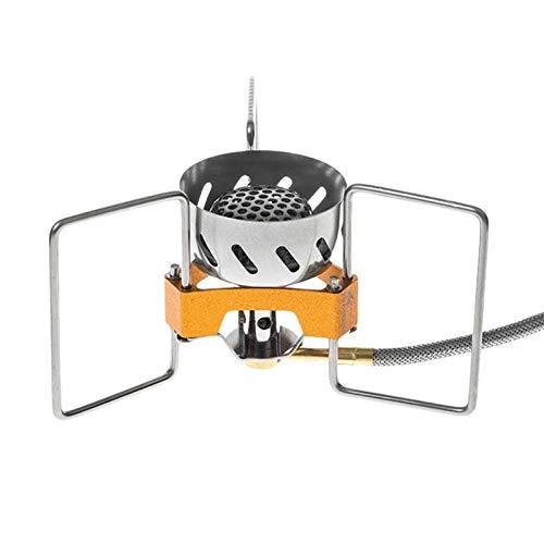 QUYY Hornillo de gas de 2900 W, resistente al viento, portátil, ligero, plegable, para camping, senderismo, picnic.